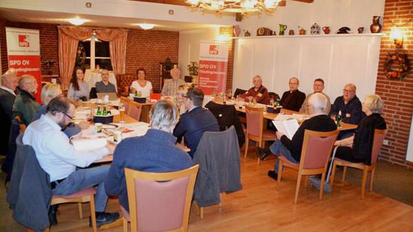 Mitgliederversammlung des SPD-OV-Thedinghausen