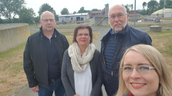Führung durch das Klärwerk in Thedinghausen