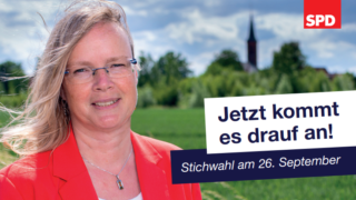 Ausschnitt aus dem Stichwahl-Flyer