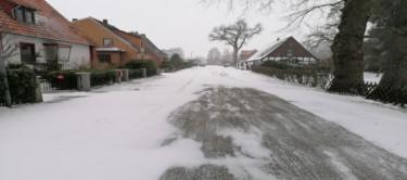 Riede / Dorf im Winterschlaf
