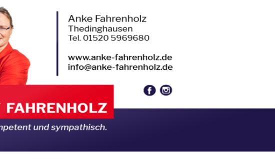 Anke Fahrenholz / Briefkopf