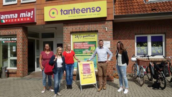 Die SPD zu Besuch in Blender bei tanteenso
