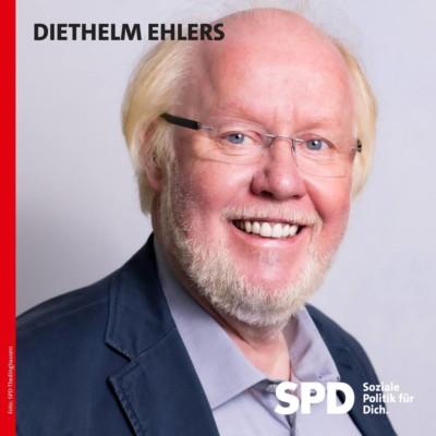 Wahlbild: Diethelm Ehlers